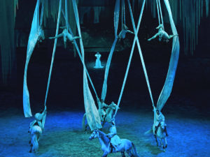 Cavalia's Odysseo Tours With Radio Active Designs